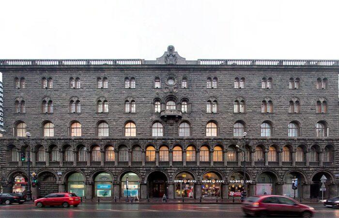 Банкирский дом Вавельберга внешний вид здания