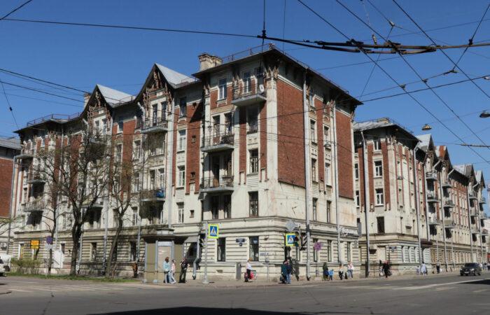 Жилой комплекс Гаванский рабочий городок общий вид 2