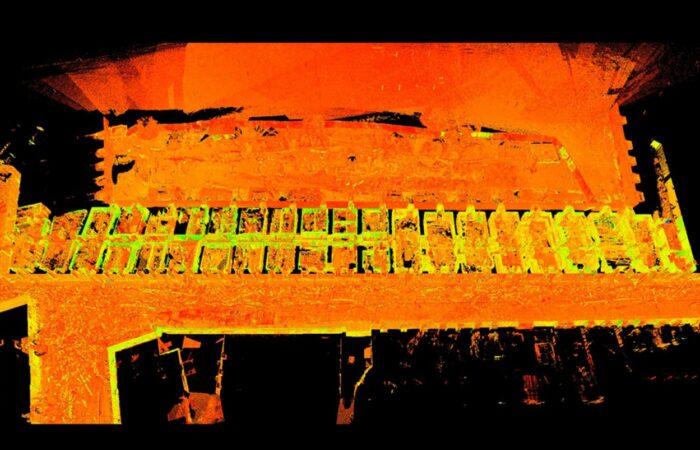 Облако точек 2 Петропавловской крепости