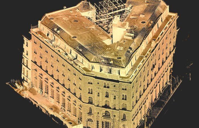Банкирский дом Вавельберга Облако точек