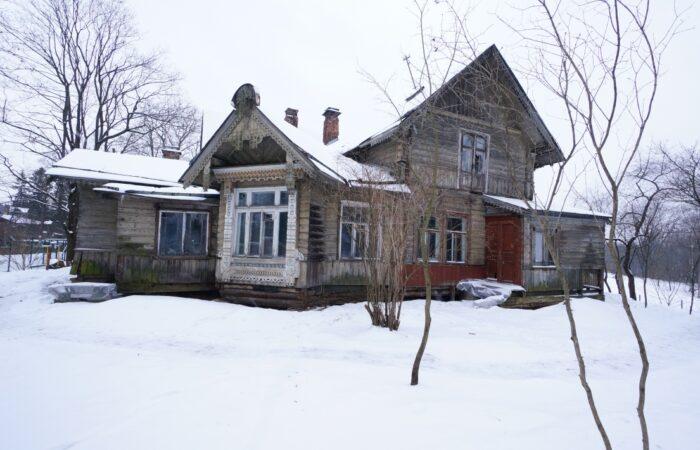 Дача (деревянная 1–2-этажная) Общий вид здания 2