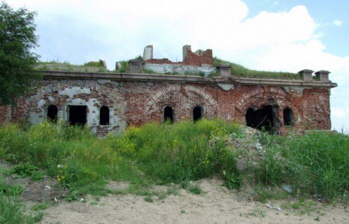 Батарея северная №3 Общий вид здания 3