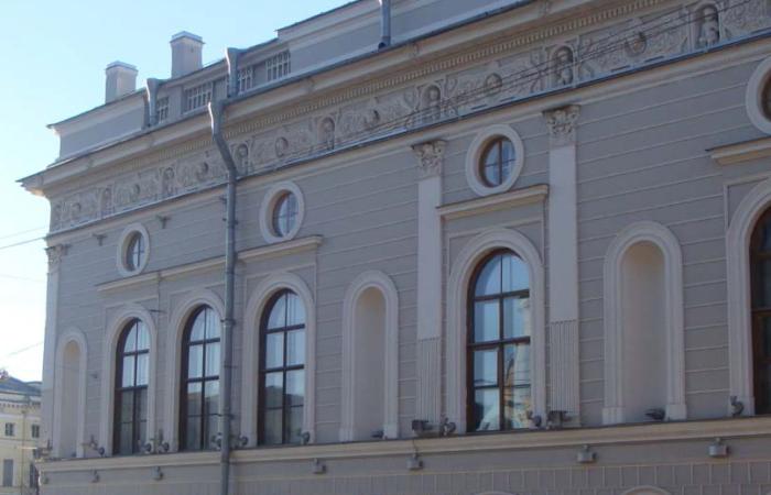 Шуваловский дворец Общий вид 3