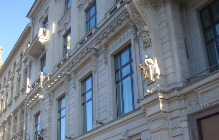 Международный коммерческий банк Общий вид здания 4