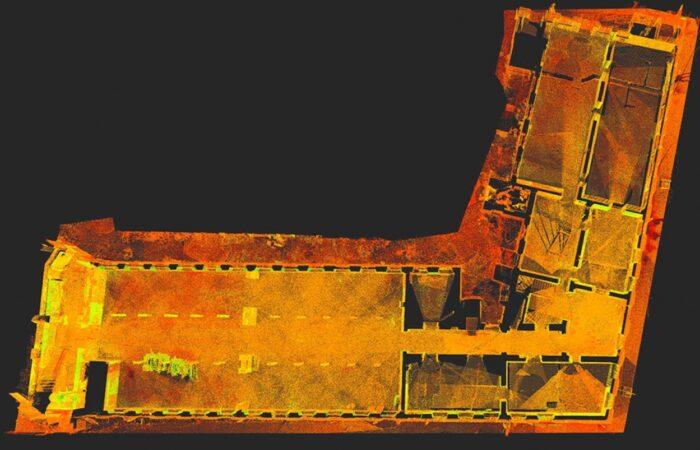 Санкт-Петербургский трубочный завод Облако точек 3