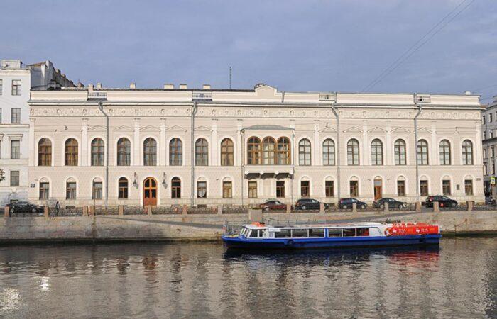 Шуваловский дворец Общий вид 1
