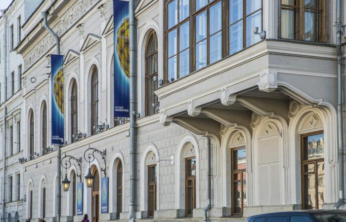 Шуваловский дворец Общий вид 2