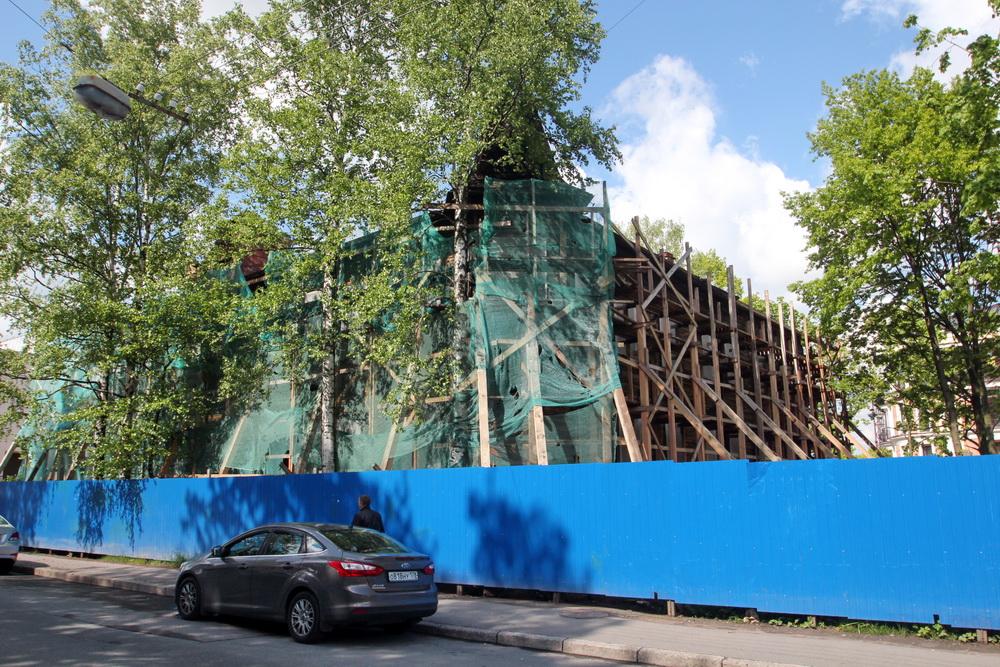 Деревянный дом Петровских в Пушкине