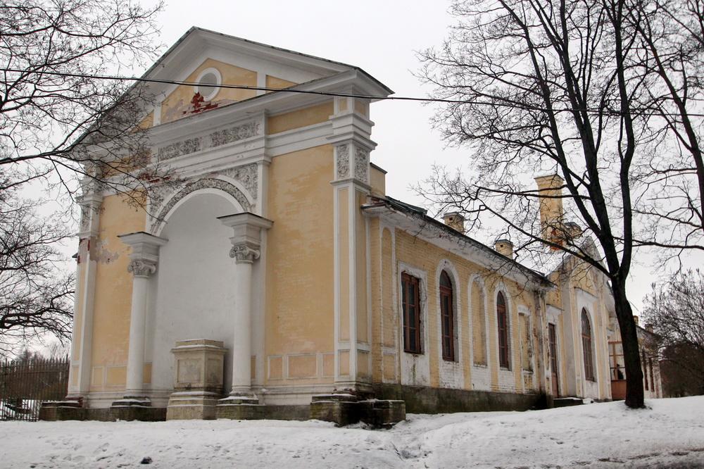 Оранжерея дворцового садоводства в Павловске
