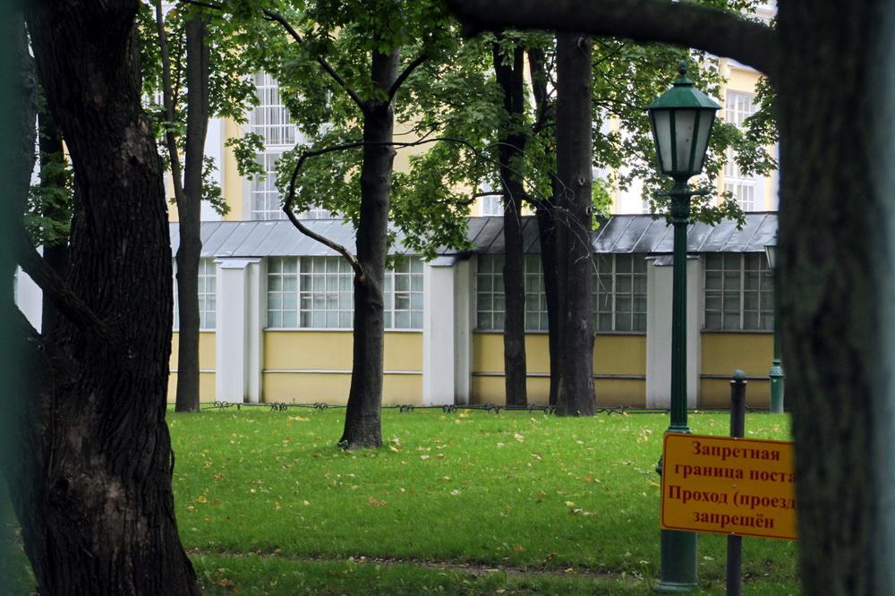 Таврический дворец деревянная галерея