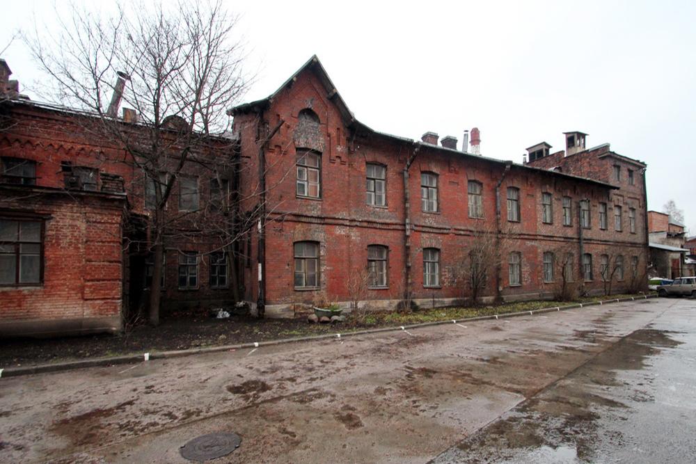 Здание лаборатории на Уральской улице
